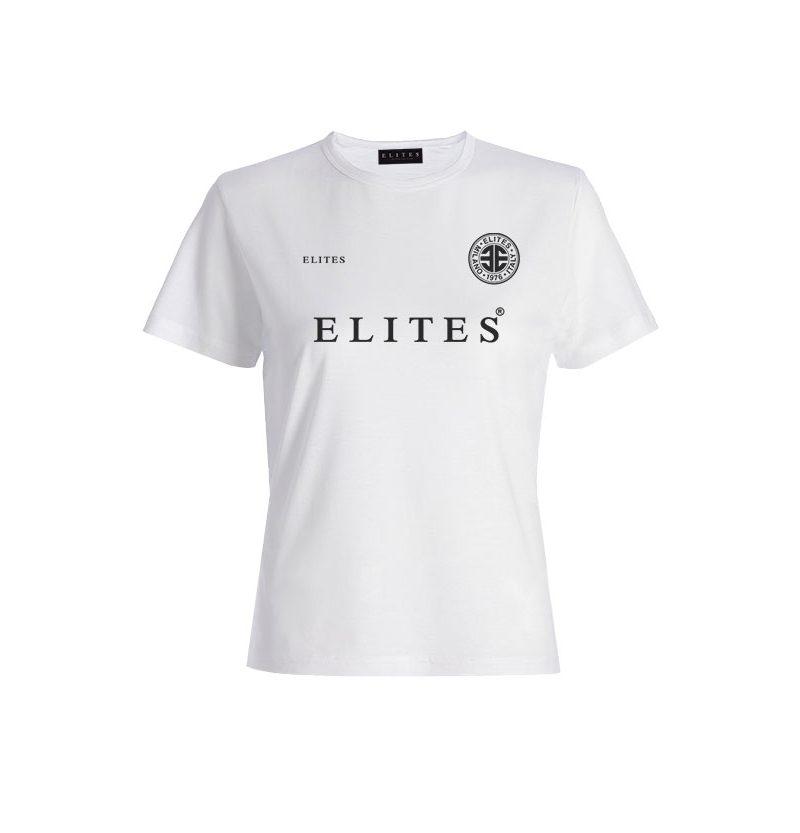WOMAN FC ELITES T-SHIRT - WHITE