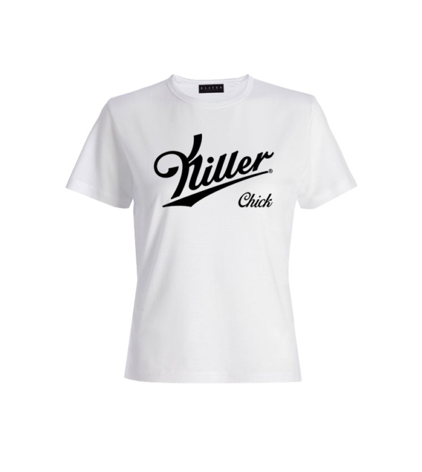 T-SHIRT ROUND NECK LE KILLER CHICK